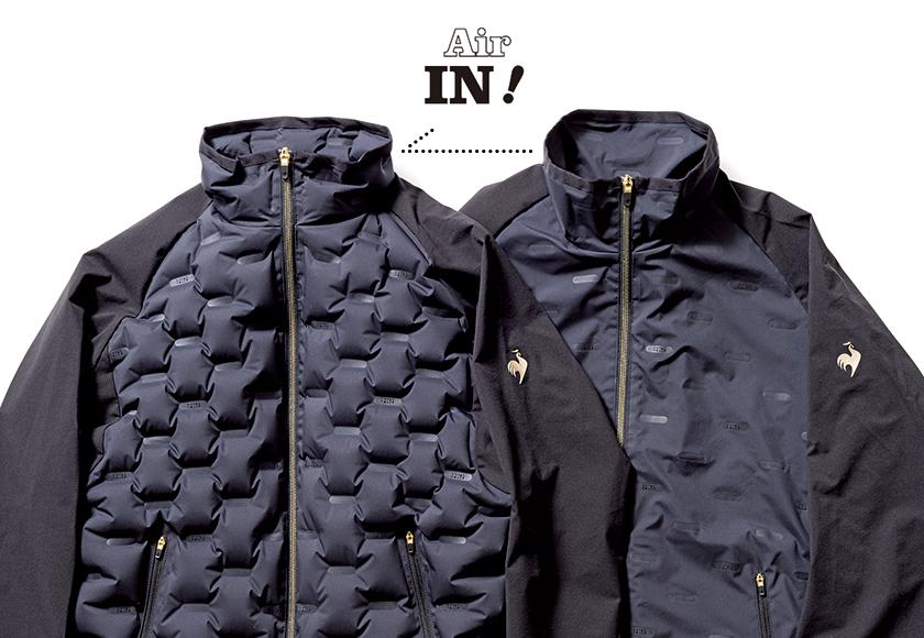 ルコックスポルティフ RIJOUME エアチューニングジャケット