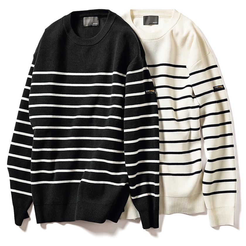 MORLES モアレスのコーデュラ ニット バスクシャツ