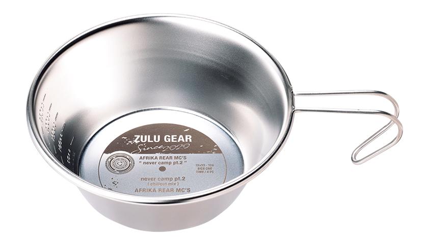 ZULU GEARのオリジナルシェラカップ