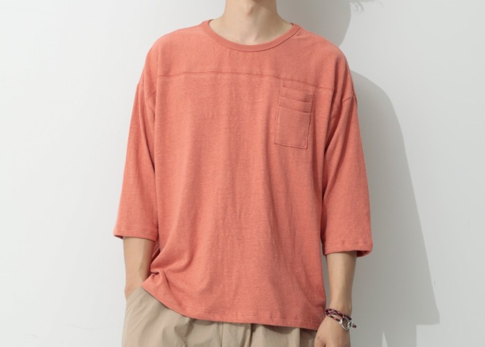 ペンドルトン×ジーンズファクトリーのストリートライクな伝統柄のロングTシャツ